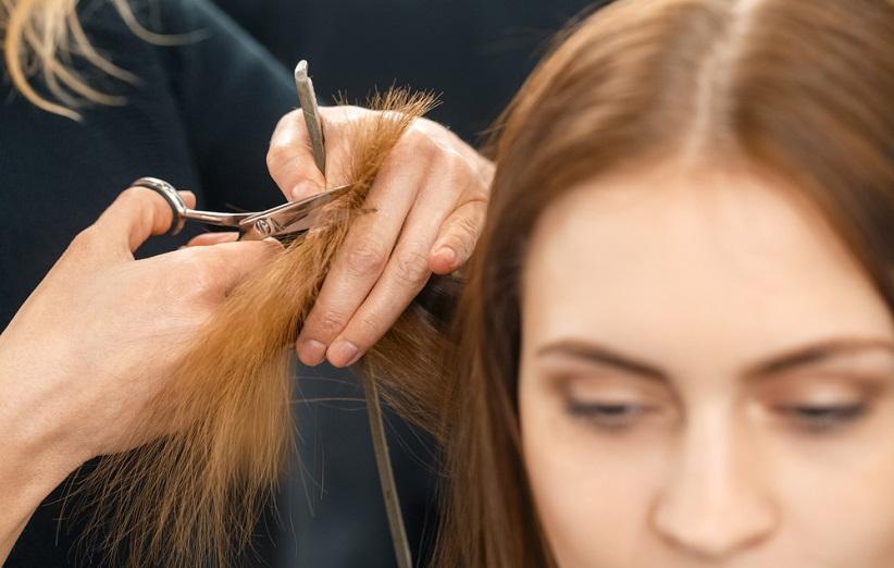 Image result for اصلاح خوب می تواند موهای آسیب دیده را زنده کند!