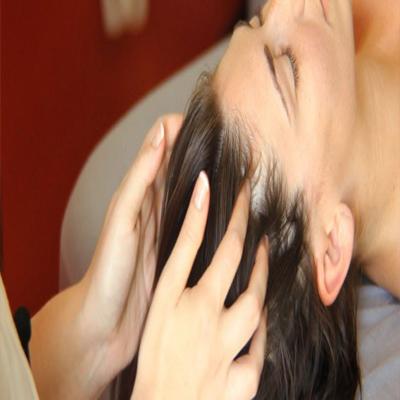 توقف ریزش مو با ماساژ سر