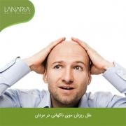 عوامل مؤثر در ریزش موی ناگهانی
