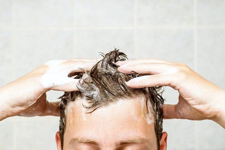تعداد دفعات شستن مو